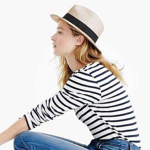J Crew Panama Hat NWT